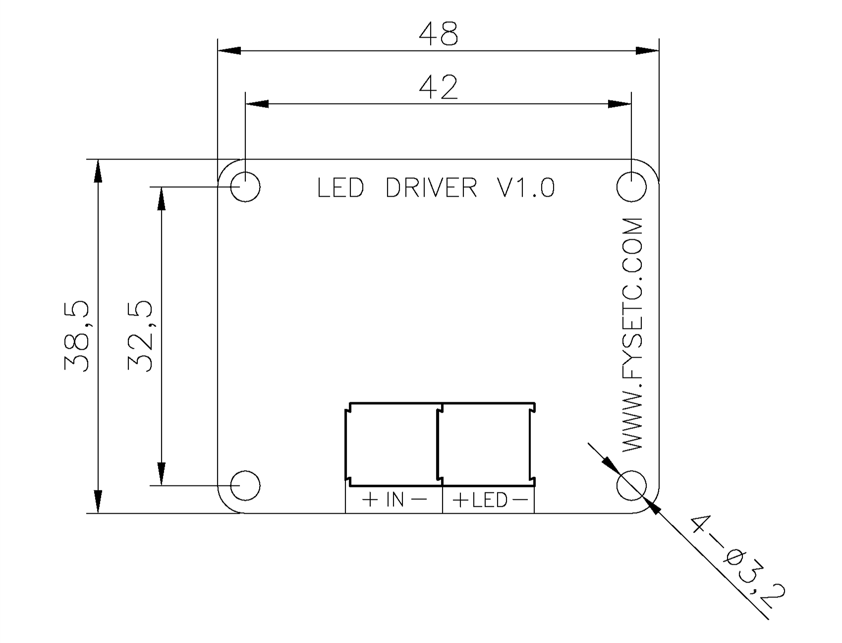 LED-driver-dimensions